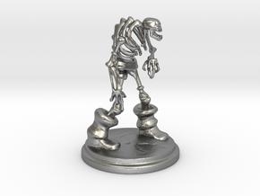 SKELLY METAL -100mm in Natural Silver