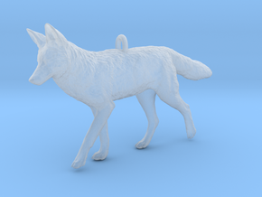 Coyote Ornament in Smooth Fine Detail Plastic