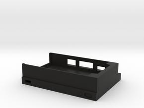 Raspberry Pi Xbox One S Case(Bottom) in Black Natural Versatile Plastic