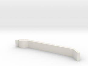 TK Grappling Hook Leg in White Natural Versatile Plastic