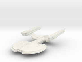 Crow Class  Destroyer in White Natural Versatile Plastic