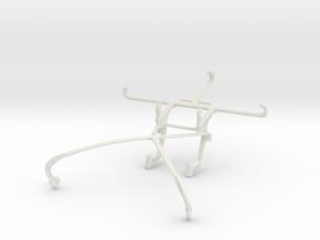 Controller mount for Shield 2015 & Posh Optima LTE in White Natural Versatile Plastic