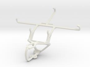 Controller mount for PS3 & Posh Titan Max HD E600 in White Natural Versatile Plastic
