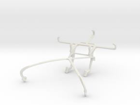 Controller mount for Shield 2015 & QMobile Linq X7 in White Natural Versatile Plastic