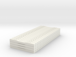 Concrete Tie Load Block - HOScale in White Strong & Flexible