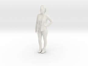 Printle C Femme 128 - 1/24 - wob in White Natural Versatile Plastic