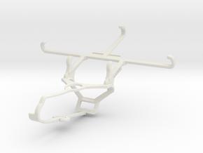 Controller mount for Steam & QMobile Noir Z8 - Fro in White Natural Versatile Plastic
