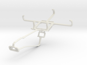 Controller mount for Xbox One Chat & Unnecto Quatt in White Natural Versatile Plastic