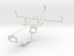 Controller mount for Xbox One & Unnecto Quattro V in White Natural Versatile Plastic