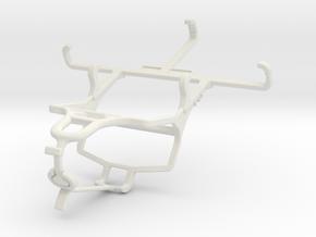 Controller mount for PS4 & Unnecto Quattro S in White Natural Versatile Plastic