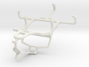 Controller mount for PS4 & Unnecto Quattro V in White Natural Versatile Plastic