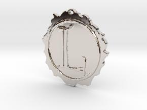 Lasombra Pendant Vampire Masqurade Style (VTM) in Rhodium Plated