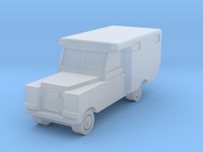 1/220 Land Rover Ambulance in Smooth Fine Detail Plastic