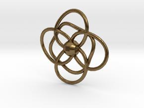 CircleLoops in Natural Bronze