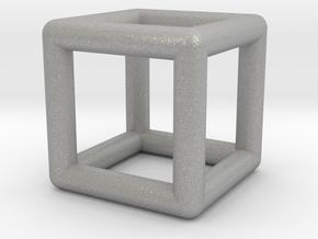 0589 Cube E (a=10mm) #001 in Aluminum