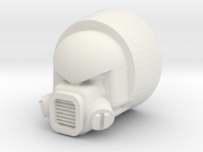 Strika head for CW Motormaster in White Strong & Flexible