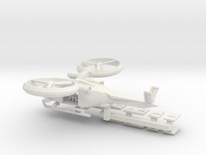 SA2 Samson Civ 1 To 285 Mod To Size V7 Solid-0 in White Natural Versatile Plastic