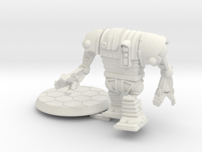 28mm/32mm Corig-8 droid with Arms in White Natural Versatile Plastic