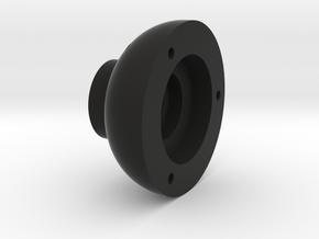 BULLET TRAILING ARM HUB in Black Natural Versatile Plastic