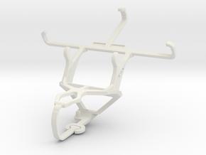 Controller mount for PS3 & Plum Axe Plus 2 in White Natural Versatile Plastic