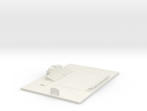 Bearcat Stadium in White Natural Versatile Plastic