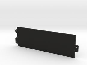 1989 - 1991 Honda Civic/CRX AC Block Off Plate in Black Natural Versatile Plastic