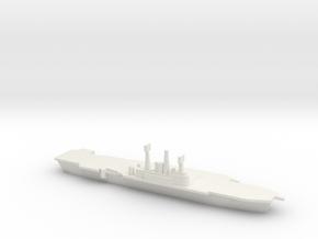 HMS Ark Royal R09, 1977 Refit, 1/1800 in White Natural Versatile Plastic