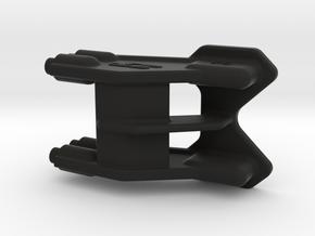 2616 - B6 | B6D REAR One-Piece WING MOUNT 3D in Black Natural Versatile Plastic