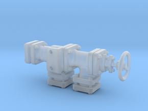 Heizungsverteilventil V1.5 in Smooth Fine Detail Plastic