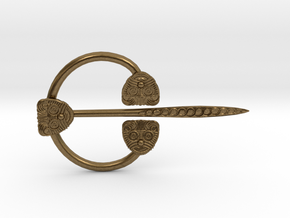 Viking Ring Needle 1 M in Natural Bronze (Interlocking Parts)