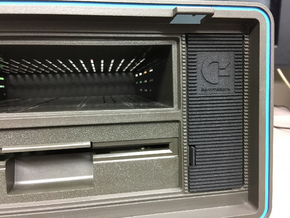 SX-64 Monitor Hatch in Black Strong & Flexible