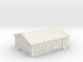 House 1 in White Natural Versatile Plastic