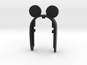 KEY FOB MICKEY MOUSE  for Mini Cooper  F54, F55, F in Black Natural Versatile Plastic