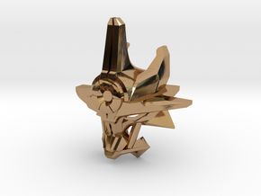 Mask Of Ultimate Power Titan Scale in Polished Brass
