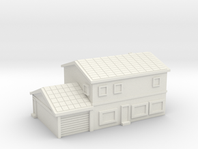 House 4 - 2 levels and garage in White Natural Versatile Plastic
