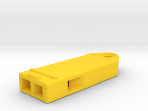Beat Whistle in Yellow Processed Versatile Plastic