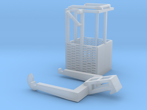1:50 Man basket for mini crawler crane  in Frosted Ultra Detail