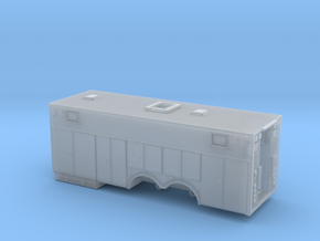 1/87 Heavy Rescue body non-rollup doors  in Smooth Fine Detail Plastic