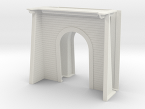 Alray Tunnel Portal in White Natural Versatile Plastic