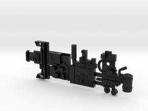 Y-wing Centurion Parts in Black Hi-Def Acrylate