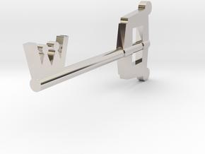Keyblade in Platinum