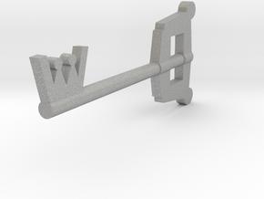 Keyblade in Aluminum