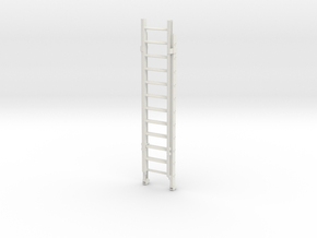 Printle Thing Ladder 01 - 1/24 in White Natural Versatile Plastic