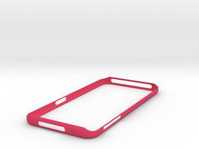 Galaxy S7 Edge Bumper  Samsung in Pink Processed Versatile Plastic