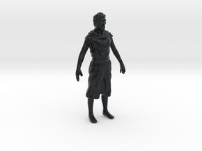 Catan knight (work in progress) in Black Hi-Def Acrylate