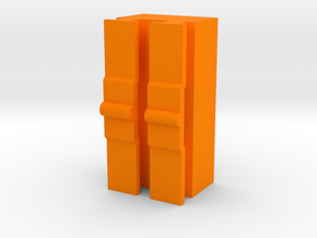 Contour / VholdR Tripod Mount Adapter in Orange Strong & Flexible Polished
