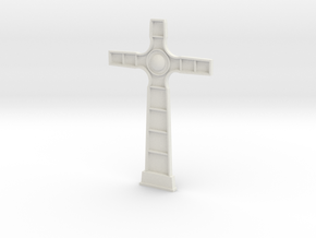 18th century cross face in White Strong & Flexible