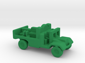 1/200 Scale Morris C8 Tractor in Green Strong & Flexible Polished