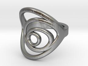 Aurea_Ring in Natural Silver: 11 / 64