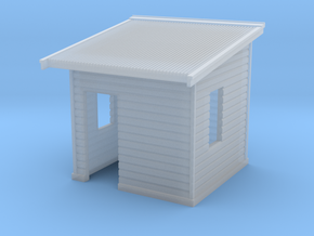 HO NSWR 'Cheap' Platform Level Signal Box in Smooth Fine Detail Plastic